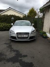 Superb Audi TTS 2.0 TFSI Quattro 3dr, Bose speakers, full leather, tiptronic semi-automatic gearbox