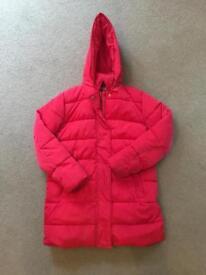 Girls winter coat 11-12 years. M&S