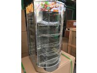 CATERING COMMERCIAL KITCHEN EQUIPMENT HOT FOOD PIE CABINET CAFE SHOP TAKE AWAY FAST FOOD RESTAURANT