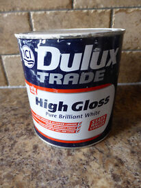 Collection of Part Used Paint - White/Neutral