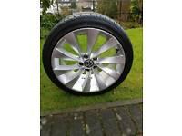 "VW 18"" alloy and tyre (INTERLAGOS ALLOY)"