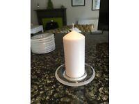Ikea glass candle holders