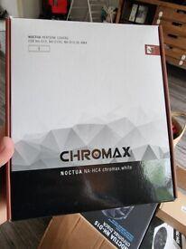 Noctua NA-HC4 chromax.white, Heatsink Cover for NH-D15, NH-D15S & NH-D15 SE-AM4 (White)