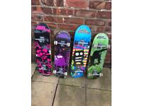 No Fear skatebords