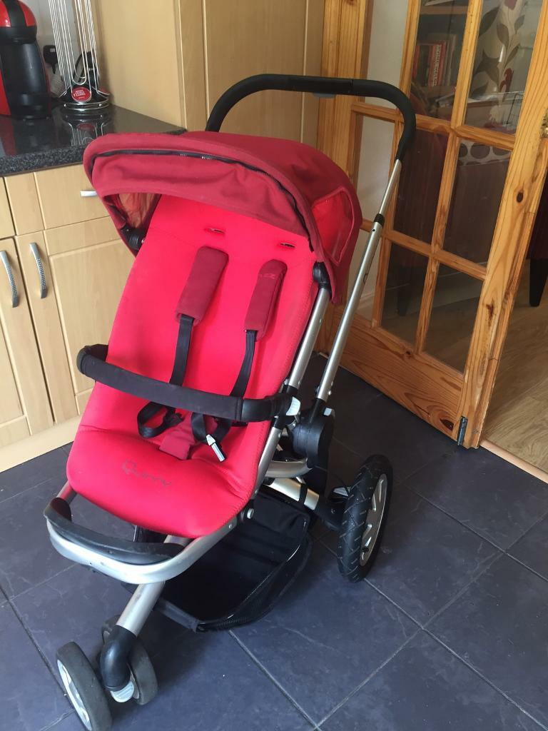 Quinny Buzz Travel System Pram Stroller Buggy Plus Extras ...