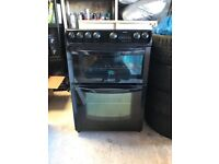 Hotpoint EW83 electric slot in oven with halogen hob