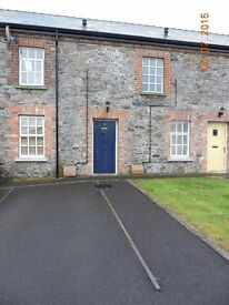 2 Bedroom town house to rent in a quiet country location, just outside Gilford.