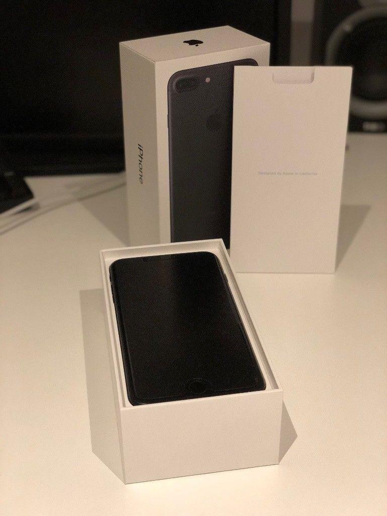 Sim Free Matt Black 256GB iPhone 7 Plus