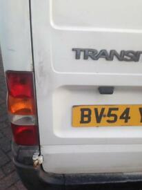 Ford transit van 54 plate good mileage