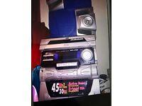 Jvc Hifi cassette /cd player