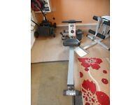Weight Machine and Rowing Machine