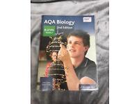 A/AS LEVEL BIOLOGY TEXTBOOKS - AQA - OXFORD PRESS & COLLINS PRESS