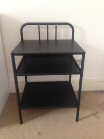 Black Ikea Bedside Table