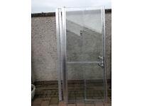 ELEGANCE bi-fold doors 900mm (suits rht).
