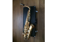 Yamaha YAS62 / YAS-62 alto saxophone, professional sax with case & accessories