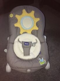 Chicco Baby Bouncer. Hardly used. In excellent condition.
