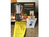 Scotts of Stow electric soup maker - unused, in box with full instructions.