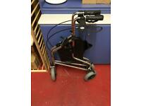 Walking trolley. Days 240s Tri Wheel Walker for mobility