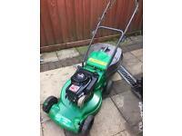 Petrol lawnmower push mower
