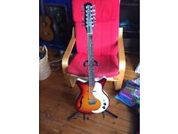 Danelectro 59 - 12 String electric (Semi Hollow)