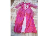 Disney princess Sleeping Beauty dress - age 5-7