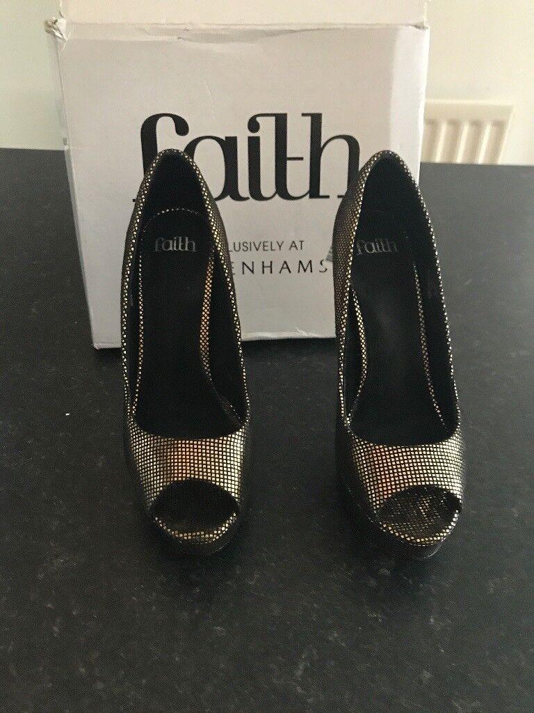 """High heels """"Faith"""" shoes"""