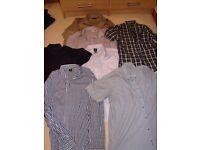 Bundle of mens shirt size 17 1/2