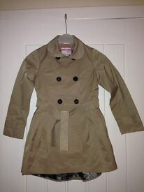 Cool Candy by Coleen girls Mac coat age 7/8 very good condition £20
