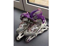 Girls roller blades - size uk 3-5