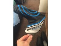 Odyssey putter with headcover