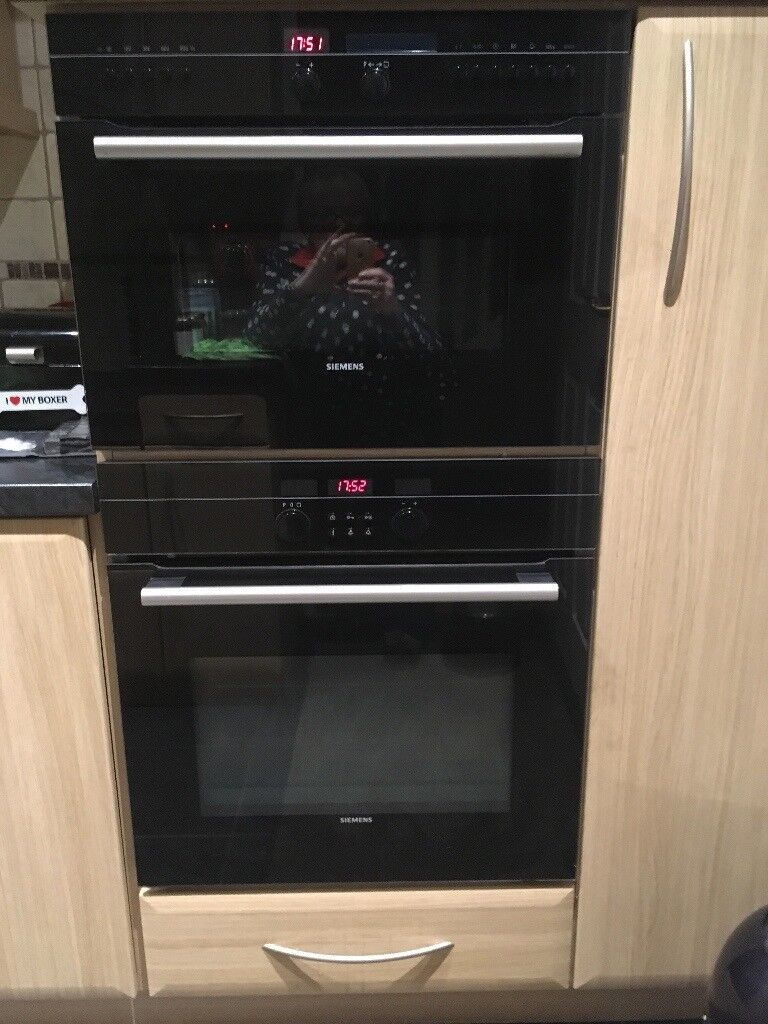 Siemens Ovens - Combi and Pyrolitic self cleaning oven