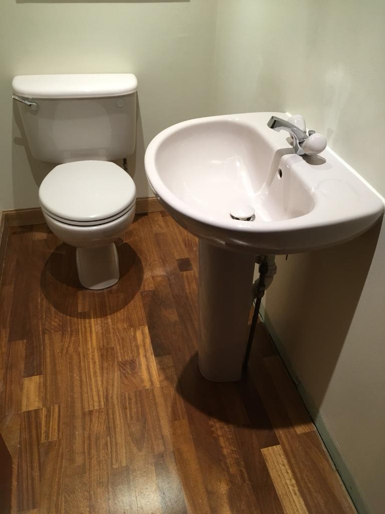 Toilet & wash hand basin | in Bridge of Don, Aberdeen | Gumtree
