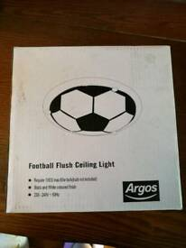 Flush football ceiling light new in box