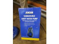 Jewdon submersible dirty water pump and hose
