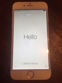 iPhone 6 64gb Rosegold - Unlocked with latest iOS and new screen