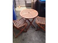 2 garden table for sale