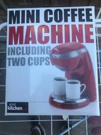 Coffee Machine Red
