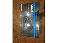 Corsair Hx1200i - 80 Plus Platinum Power Supply - Brand New & Unopened.