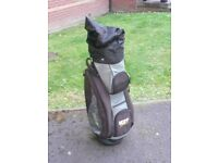 IZZO Golf Cart Bag : Excellent Condition.