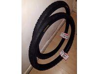 Kenda Kross Plus 26 x 1.95 Semi Slick Hybrid Tyres