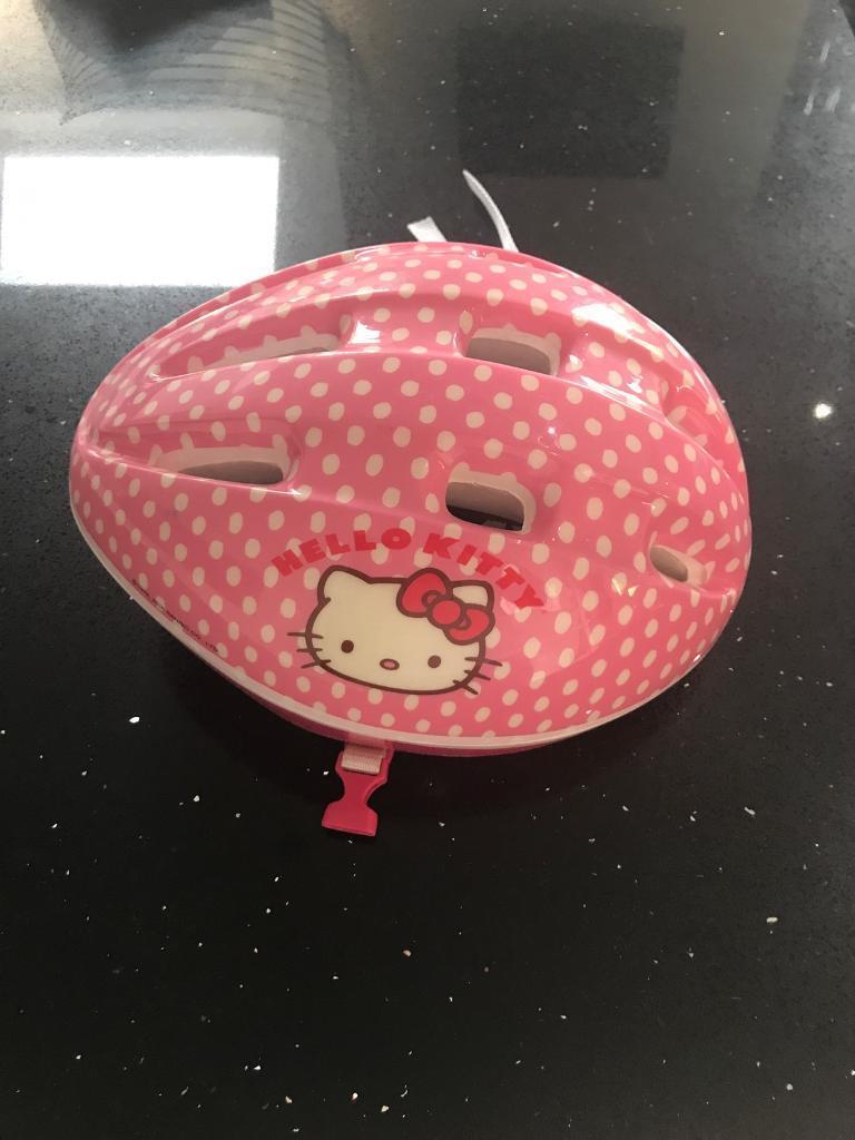 Girls Hello Kitty Bike Helmet