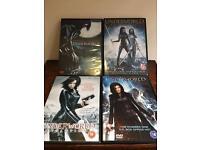 Four underworld DVDs