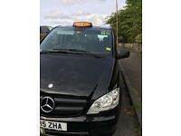 wanted black cab taxi driver, part time , city cabs radio, new mercedes m8 auto