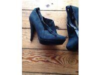 BNWT M&S Ladies heel shoe/boot size 5.5 RRP £65.00