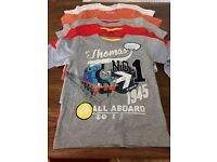 Five brand new boys t-shirts age 4-5