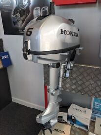 Honda 6hp Outboard Boat Engine