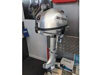Honda 6hp Outboard Boat Engine