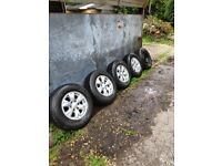L200 2014 Alloy Wheels, Lovely Condition Low Miles with Bridgestone Tyres. FREE DELIVERY.