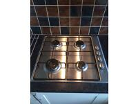 ESSENTIALS CGHOBX16 Gas Hob - Stainless Steel 4 months old