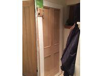 White oak internal door (4 panel) brand new